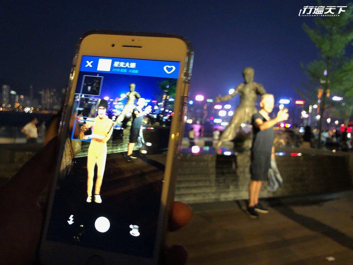 AR擴增實境,李小龍會出現在身邊。