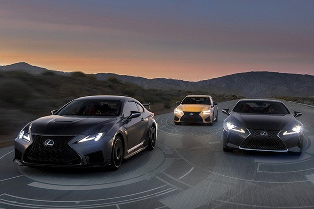 2020年式Lexus全車系車款都將標配Lexus Safety System+!