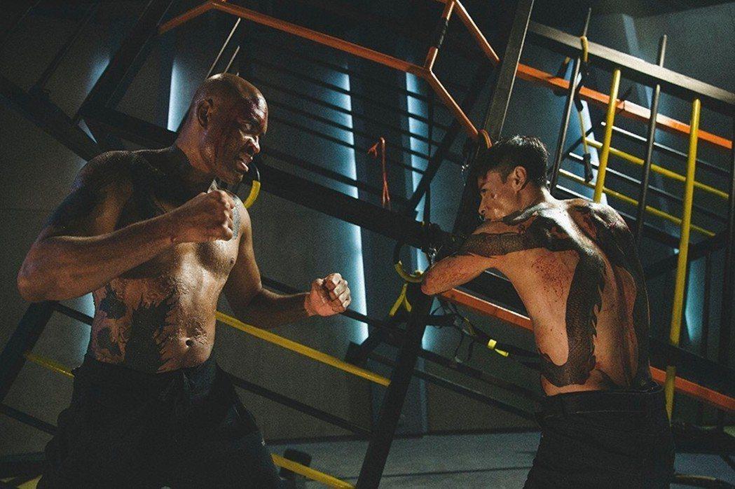 「九龍不敗」的打戲是全片最大賣點。圖/華映提供