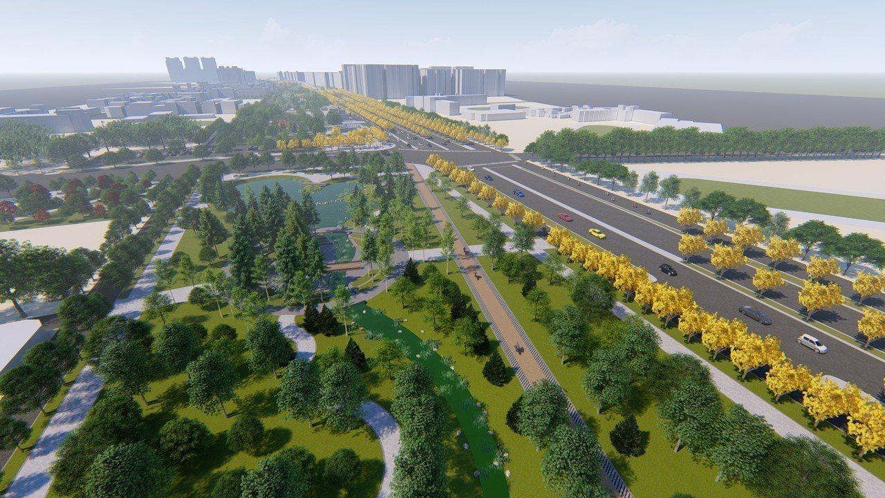 高雄市區過去因縱貫鐵路經過,造成都市發展屏障,鐵路噪音及交通阻隔,鐵路地下化後,...