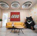 直擊!「LEGO樂高」台灣辦公室以近30萬顆積木打造三寶 下半年將開樂高認證專賣店