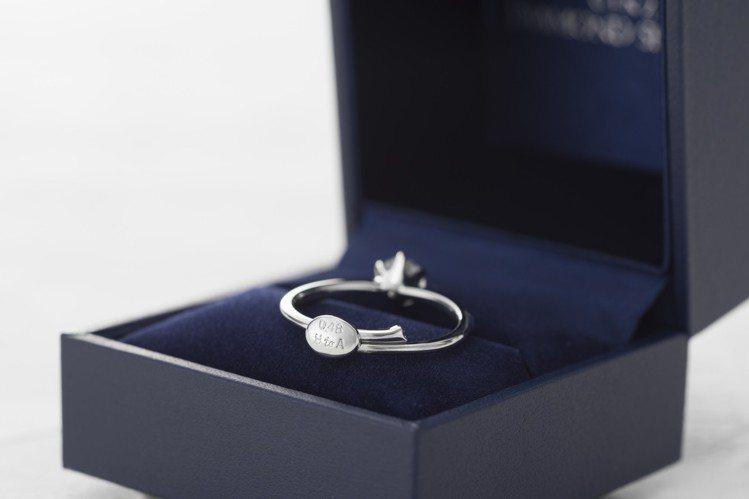 銀座白石Smile propose ring可調式戒台,搭配四大求婚攻略打造萬無...