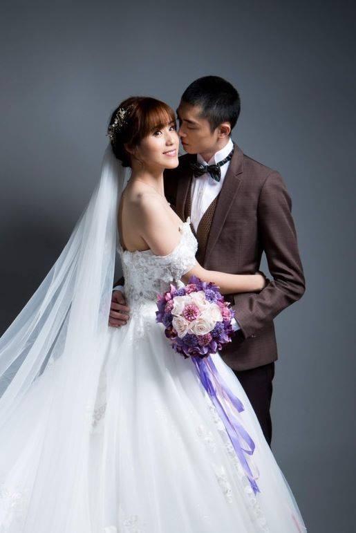 孫翠鳳小女兒陳昭賢結婚拍婚紗照  圖/摘自臉書