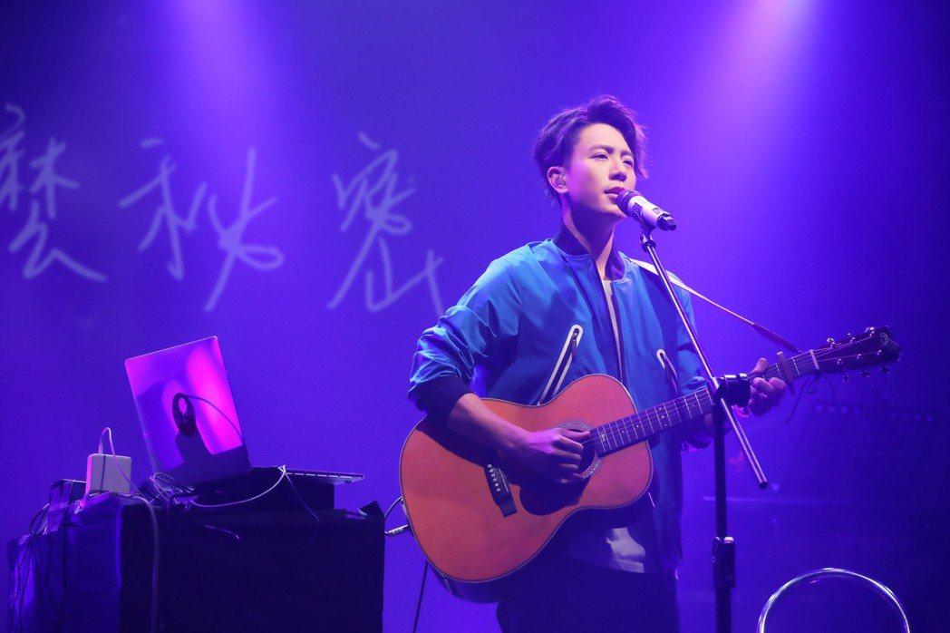 韋禮安21日在台北legacy開唱。圖/耀聲音樂提供