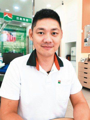 景建鈞(信義房屋竹北縣三店),39歲,年資8年 圖/信義房屋提供