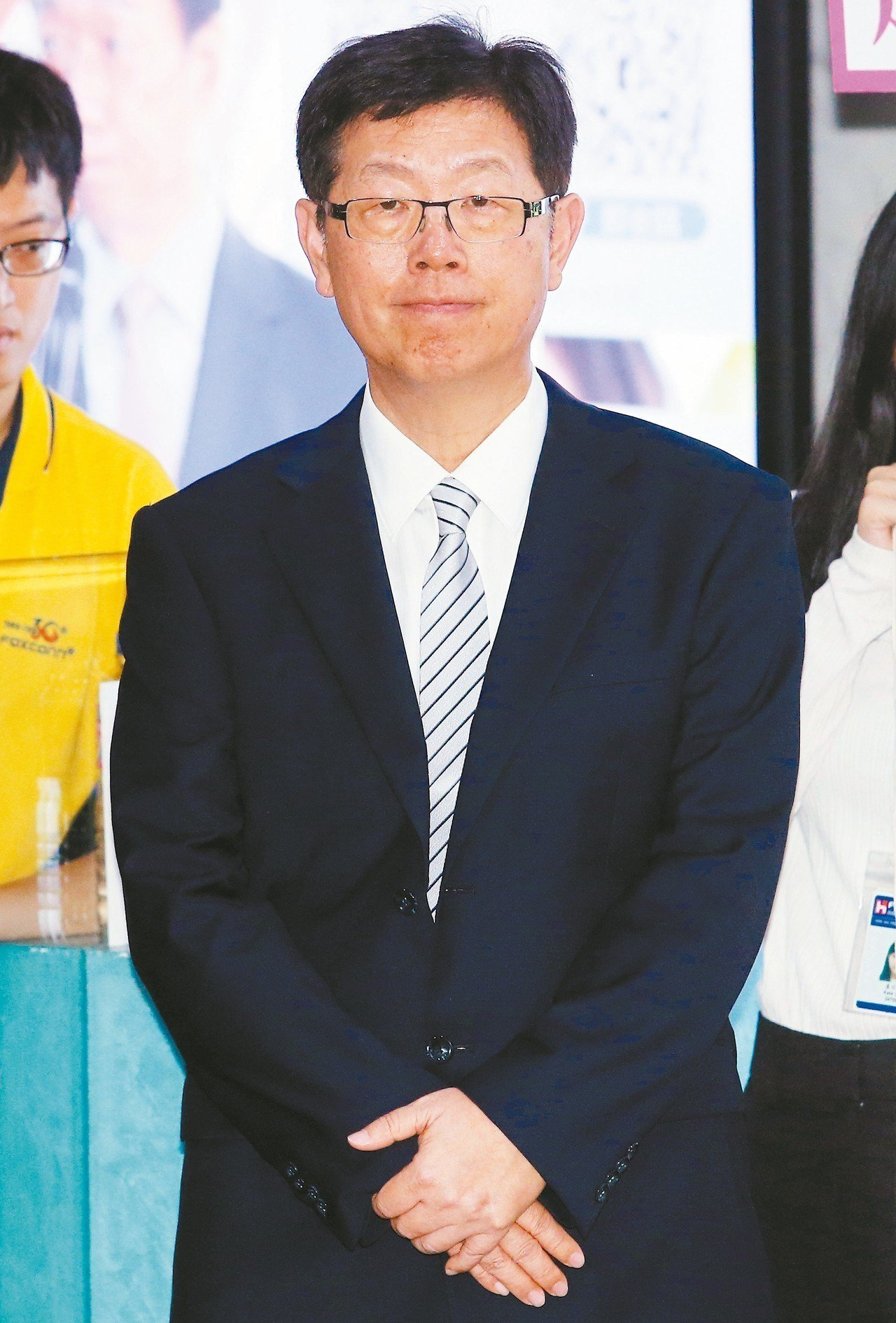 鴻海集團董事長劉揚偉。 記者杜建重/攝影