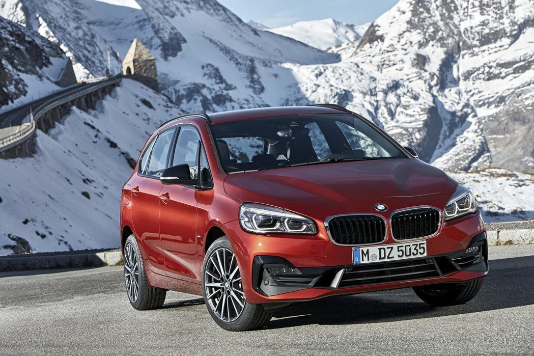BMW 2 Series Active Tourer (F45)。 摘自BMW