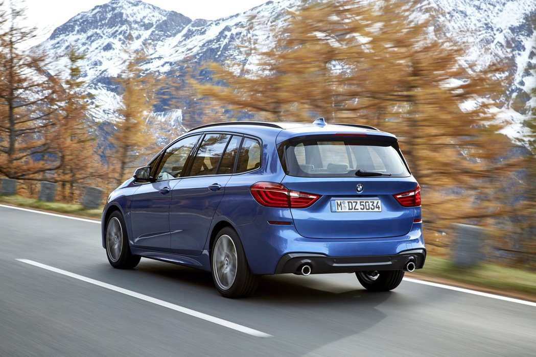 BMW 2 Series Gran Tourer (F46)。 摘自BMW