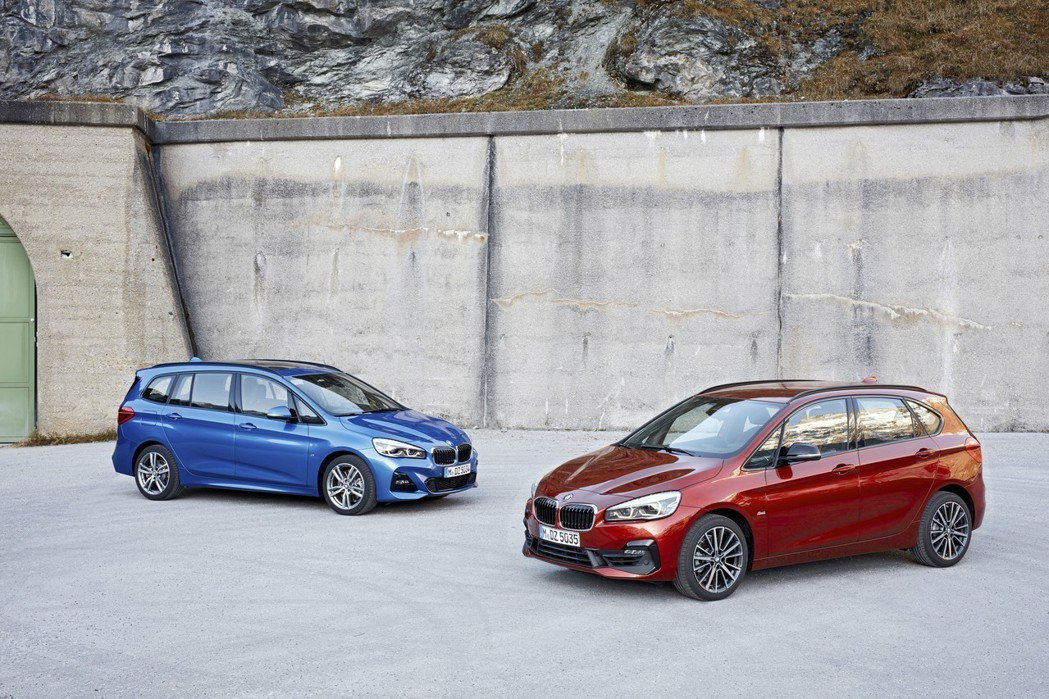 BMW 2 Series Active Tourer (F45) 與2 Seri...