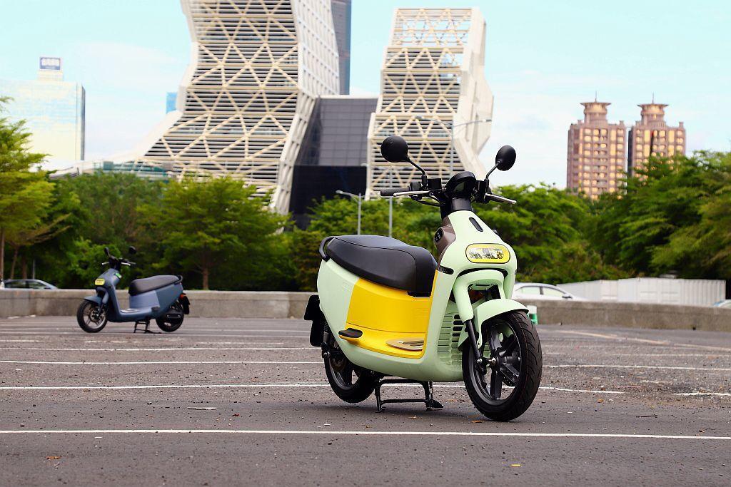 臺灣電動機車銷售龍頭Gogoro,5月推出更平價的Gogoro 3車系。 記者張...