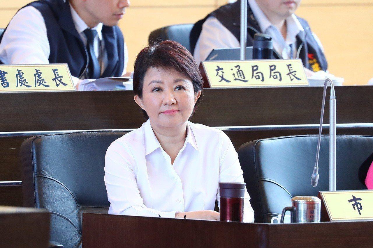 台中市長盧秀燕。 圖/台中市新聞局提供