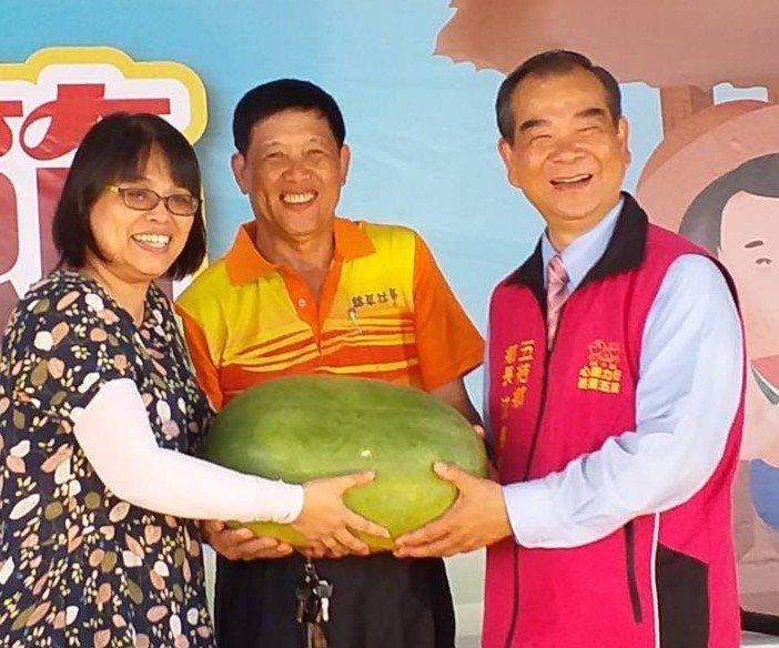 西瓜、南瓜、地瓜盛產,五結鄉公所推出「瓜瓜節」,吃瓜送瓜。圖/五結鄉公所提供