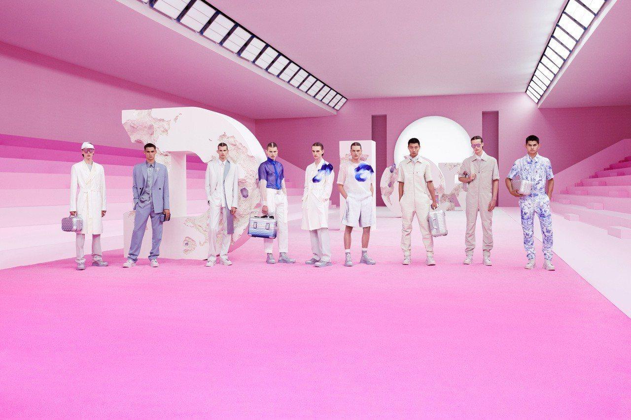 DIOR 2020春夏男裝與紐約當代藝術家Daniel Arsham合作。圖/D...