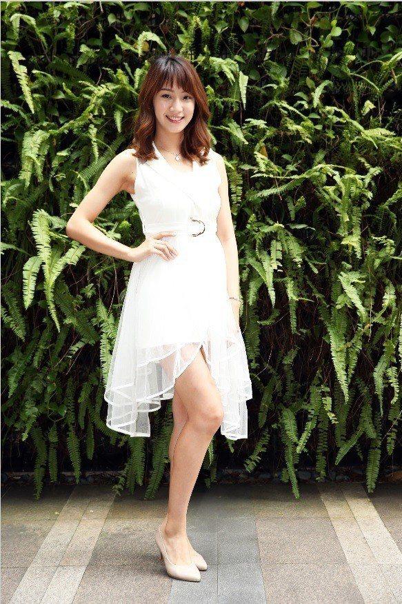 高子涵是成都姑娘,卻要在「台北物語2」講台語。記者徐兆玄/攝影