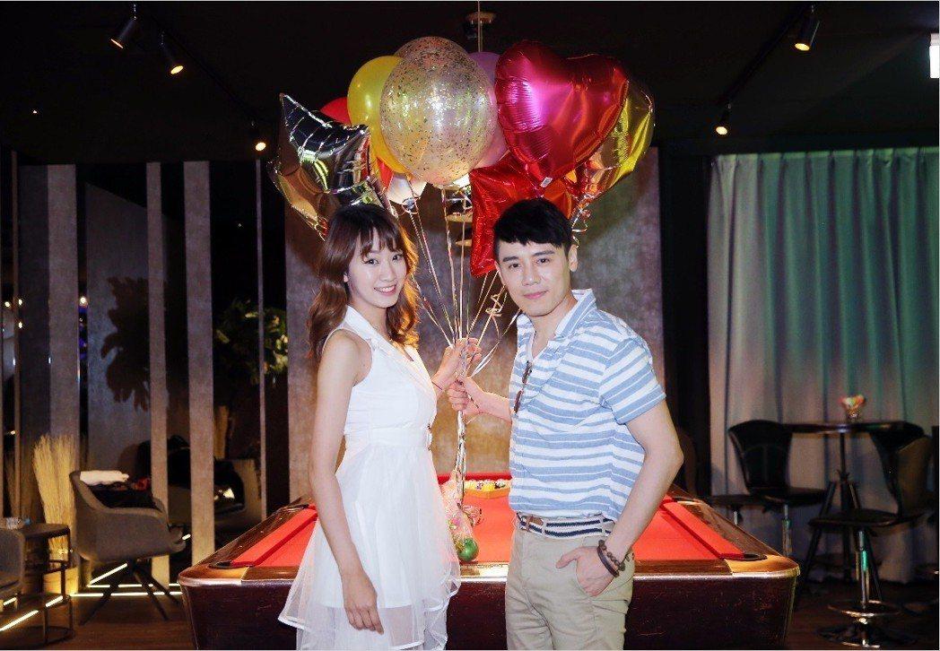邱志宇和高子涵在「台北物語2-獲利者」被撮合相親。記者徐兆玄/攝影