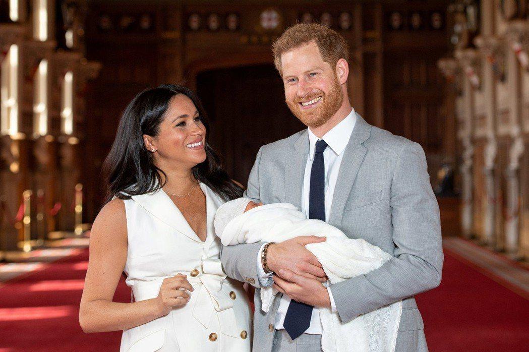 梅根與哈利王子生了兒子,看來充滿幸福。圖/路透資料照片