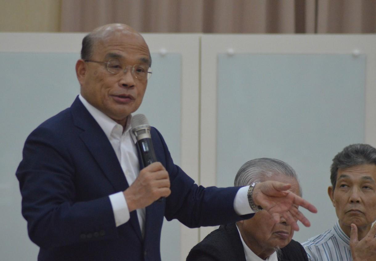行政院長蘇貞昌預估,工業區立體化和投資台灣三大方案,可創造3萬5000個工作機會...