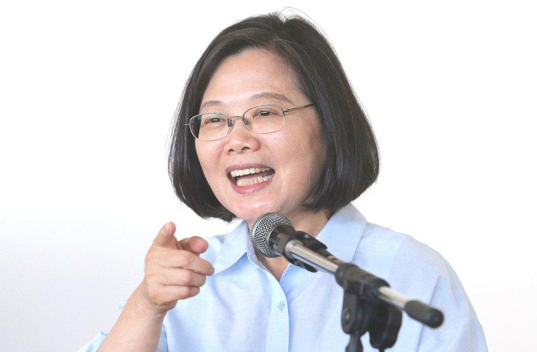 蔡英文。記者劉學聖/攝影