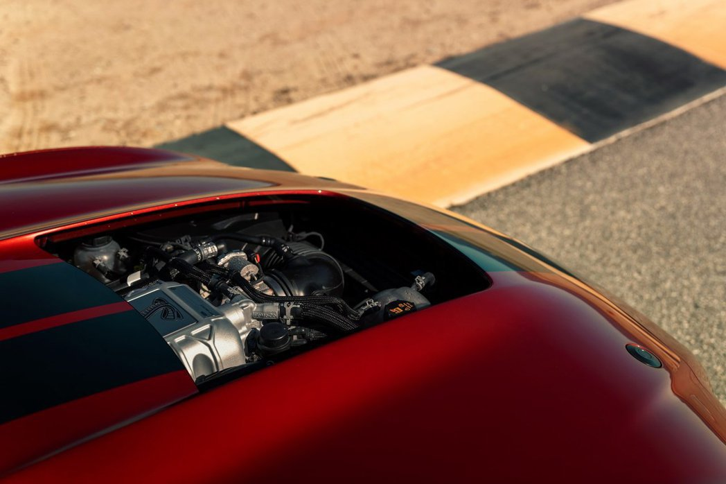 Shelby GT500整體冷卻效能也提升了50%以上。 摘自Ford