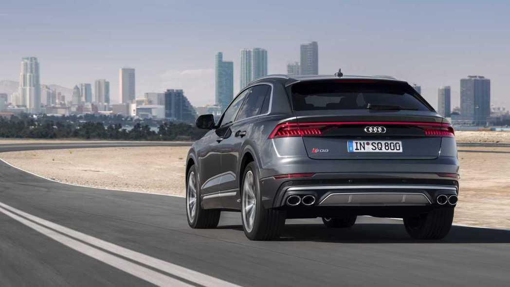 Audi SQ8。 摘自Audi