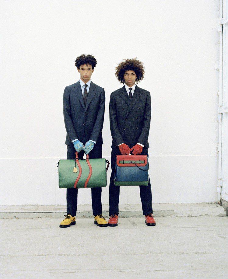 LV 2020早春男裝系列。圖/Louis Vuitton提供