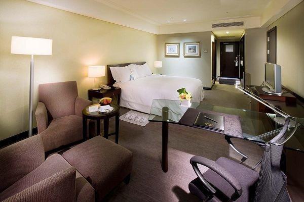 台南大億麗緻酒店-雅緻雙人房一大床。  大億麗緻酒店 提供