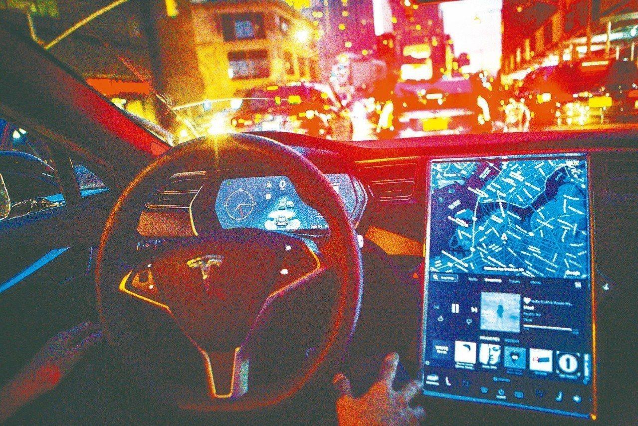 新報告認為,Tesla「自動駕駛」一詞有誤導之嫌。(Getty Images)