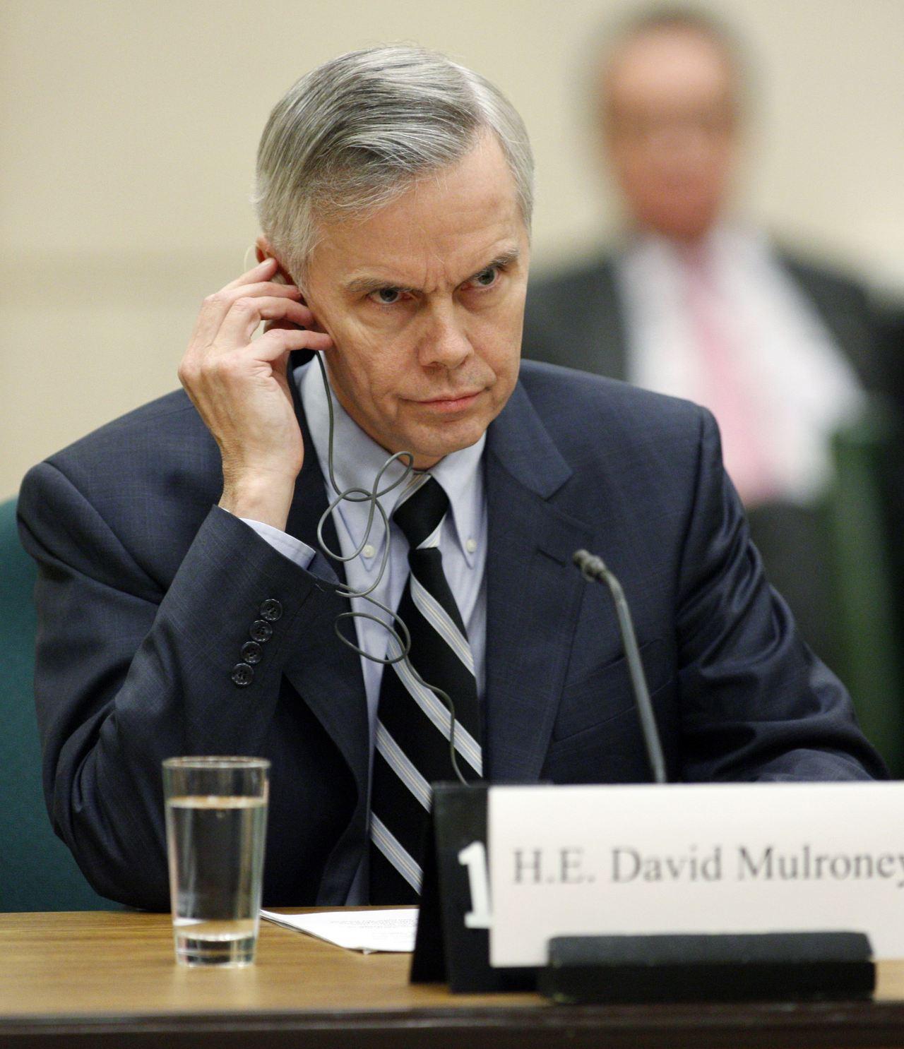 加拿大前駐華大使、多倫多大學全球事務學院高級研究員馬大維(David Mulro...