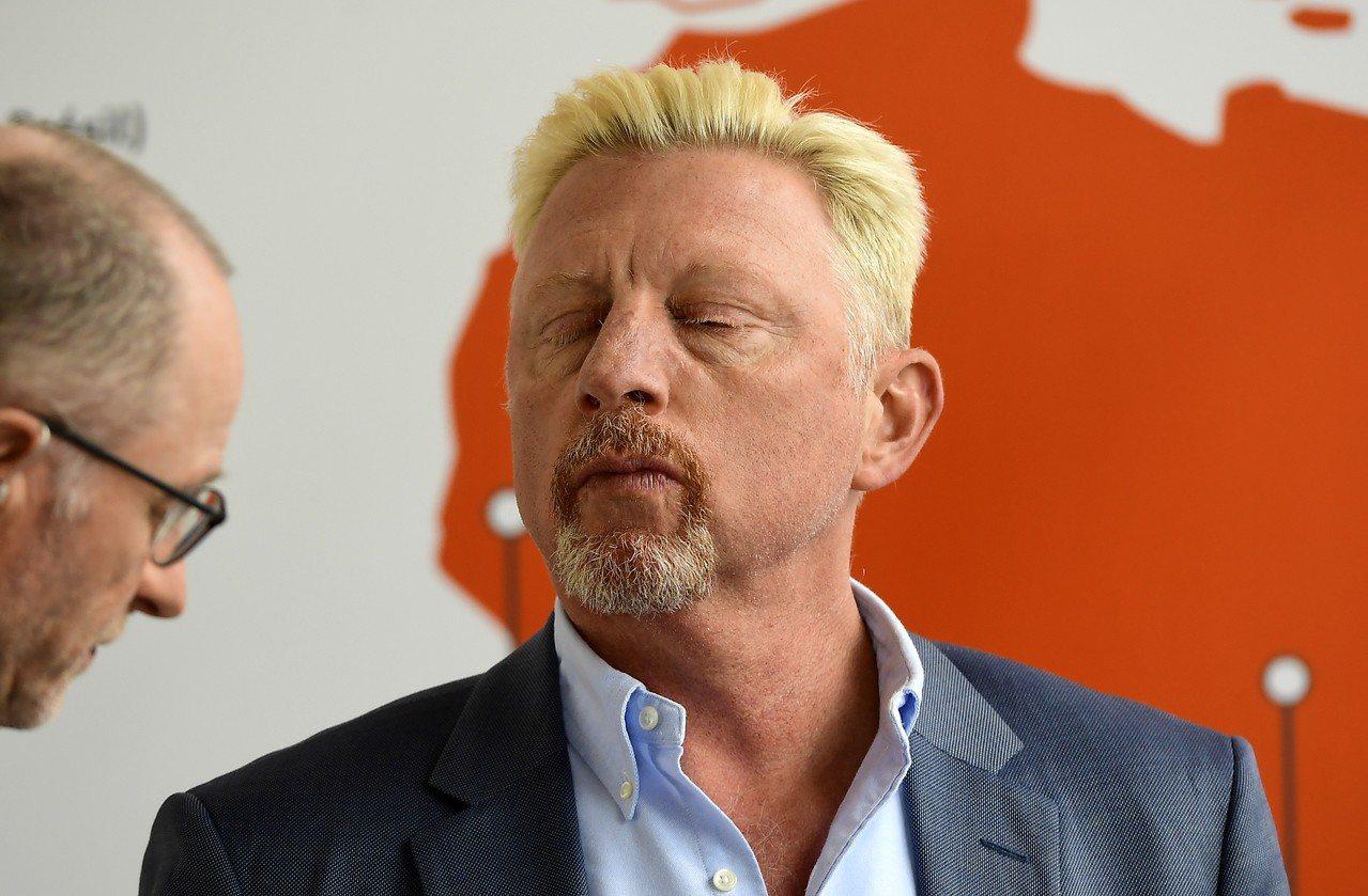 前德國網球明星貝克(Boris Becker)因宣告破產,私人物品包含獎盃等將遭...