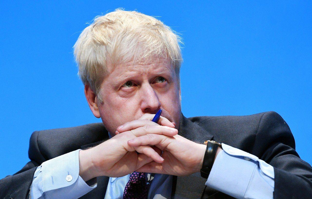 英國下屆首相熱門人選強生(Boris Johnson)。 歐新社