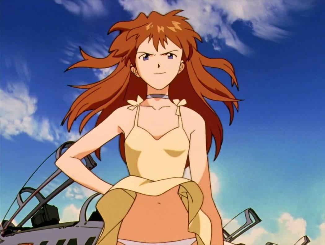 明日香是一個非常貫徹的悲劇角色,她裝作堅強好勝只因內心嚴重脆弱。(動畫截圖)