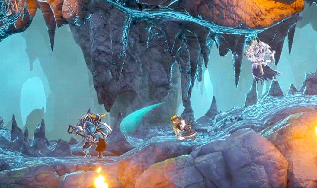 等等...這個拿鏟子的鎧甲人...是不是在哪款遊戲見過?遊戲中也有類似不少這樣的...