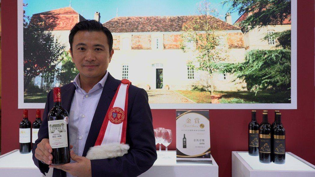 金色大地總經理呂政璋,同時也是法國貝艾爾酒莊莊主及少數法國授勳台灣之騎士之一。 ...
