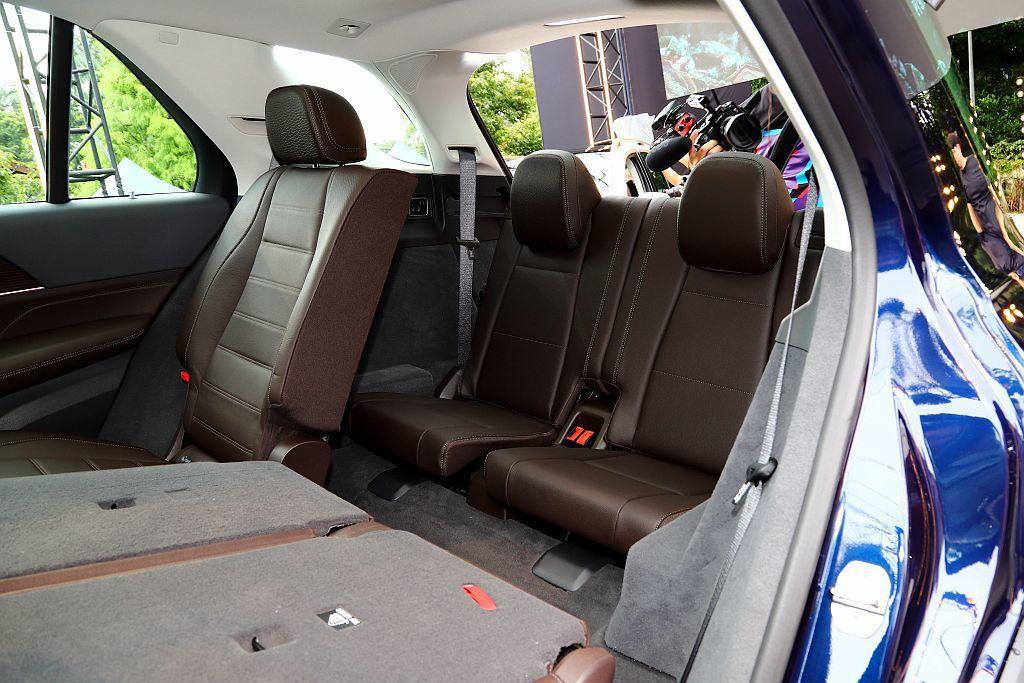 全新賓士GLE首次提供5人以及7人座等兩種座椅配置選擇。 記者張振群/攝影