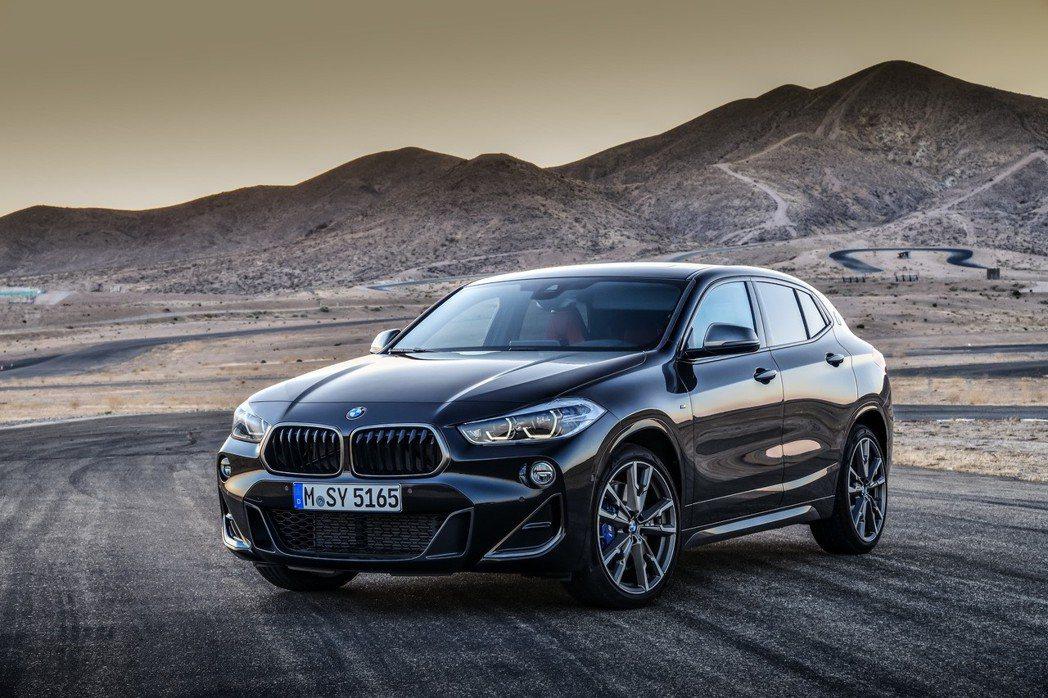 全新BMW X2 M35i性格跑旅,絕對帶勁。 圖/汎德提供