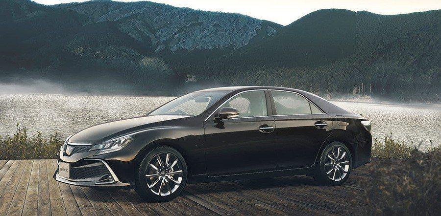 Toyota Mark X今年確定停產。 摘自Toyota
