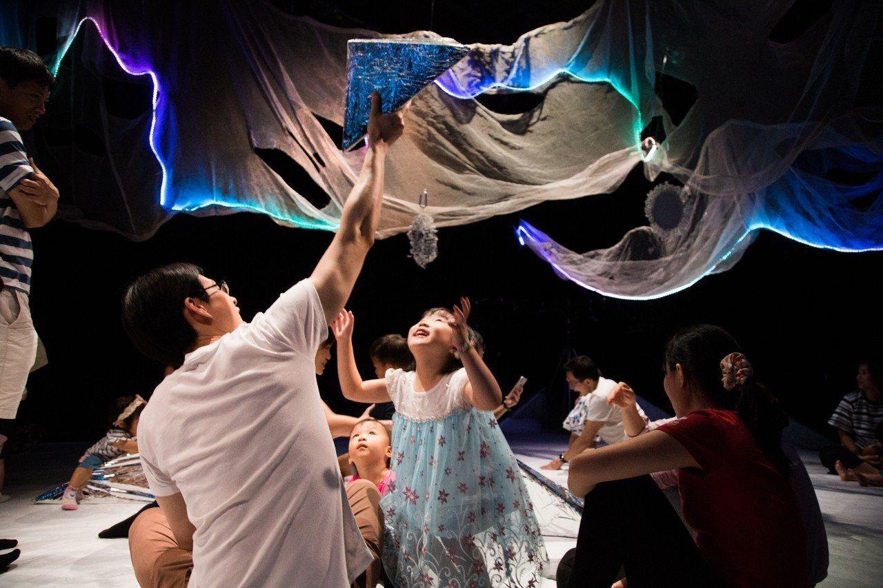 寶寶劇場透過顏色、物件打開0-2歲孩子的感官!圖/文 両両製造聚團、華山1914...