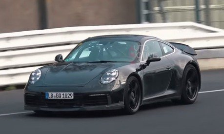 Porsche正緊鑼密鼓測試911 GT3 Touring 純手排會復活嗎?