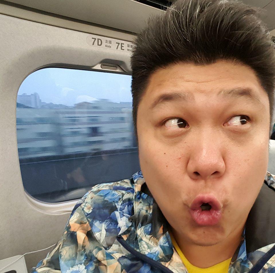 哈孝遠在演藝圈人緣一向很好,也曾在TVBS「就要醬玩」主持過很長一段時間。圖/哈