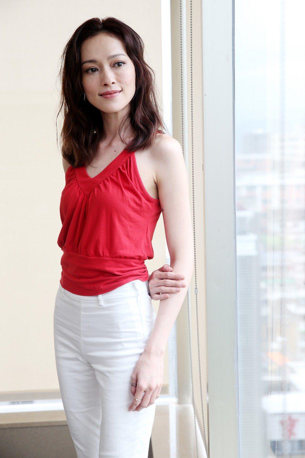 姚以緹在「浮士德遊戲2」飾演殺手,戲中有大量動作戲。記者邱德祥/攝影
