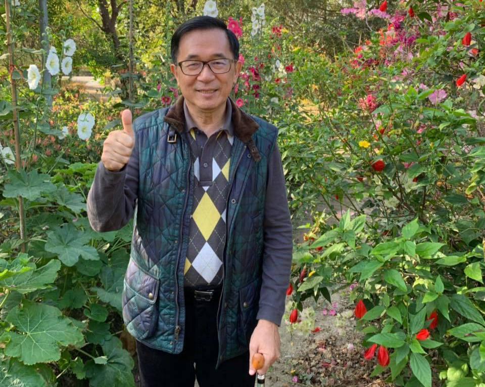 前總統陳水扁。圖/擷自臉書