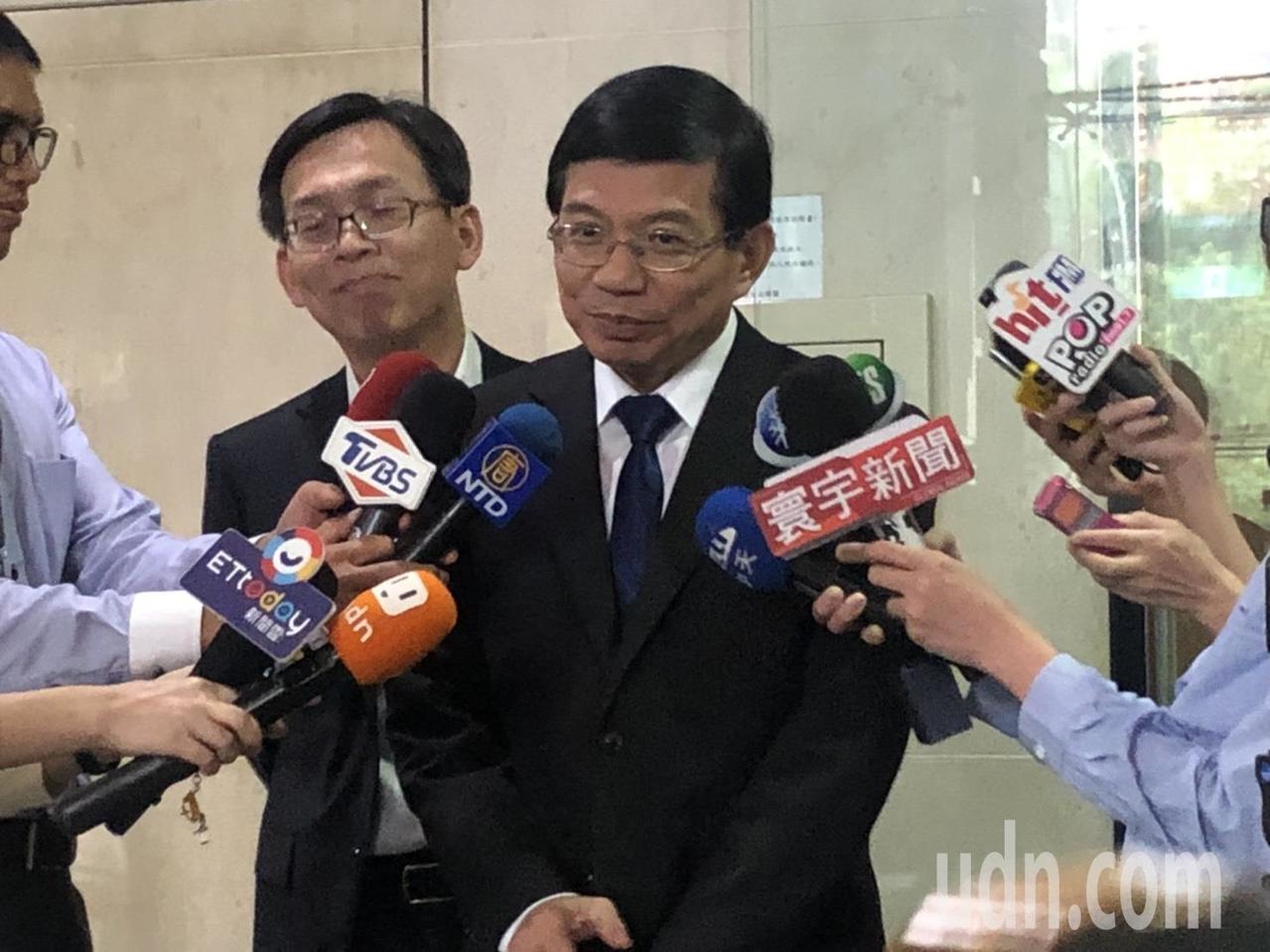 交通部政務次長王國材。記者曹悅華/攝影