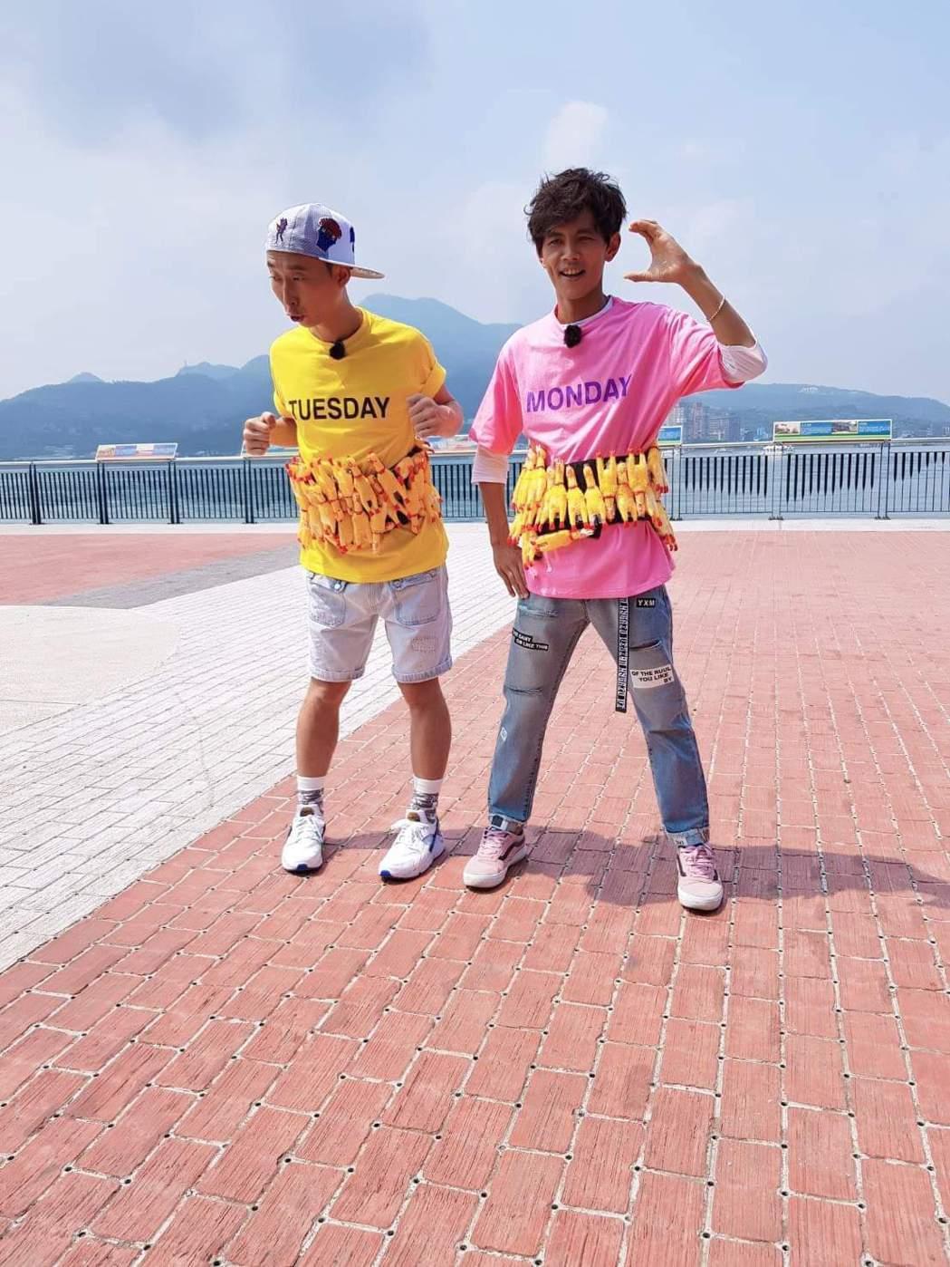 浩子原本要和阿翔合體主持「綜藝新時代」。圖/摘自臉書