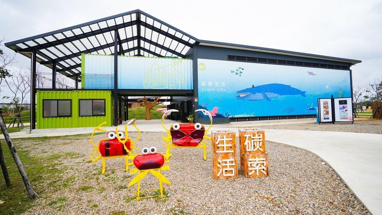 桃園農業博覽會園區明年轉型為常態性環境基地,其中,園區內的「碳索生活館」以二手貨...