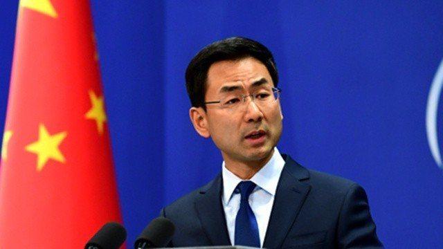 中共外交部發言人耿爽。取自環球網
