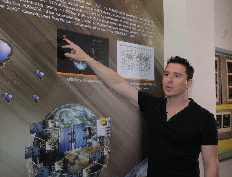 法國人方喬丹目前在成大攻讀航太博士。圖/成大提供