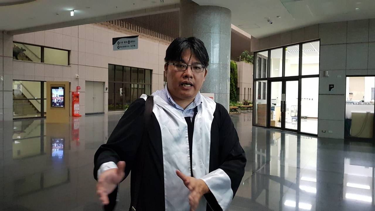 阮男義務律師邱顯智。記者張雅婷/攝影