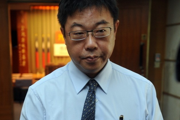 中國文化大學新聞系主任胡幼偉。聯合報系資料照/記者鄭超文攝影