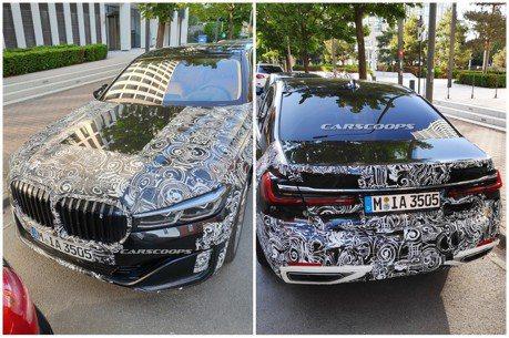 這輛頭尾偽裝的BMW 7-Series 究竟是何方神聖?