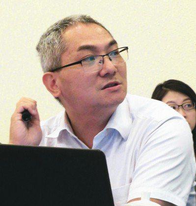 上海社會科學院應用經濟所副研究員劉亮。 特派記者林則宏/攝影